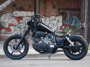 yamaha custom bikes. Black Bedroom Furniture Sets. Home Design Ideas