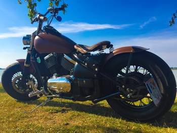 Customfender Motorradfender