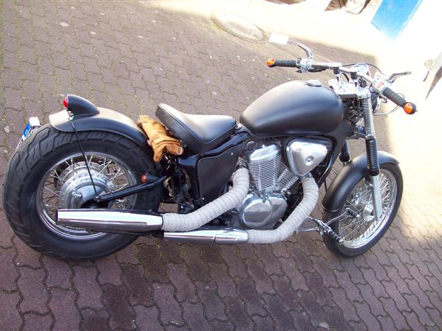 fender 180 mm custom garde boue old school bobber chopper custombike ebay. Black Bedroom Furniture Sets. Home Design Ideas